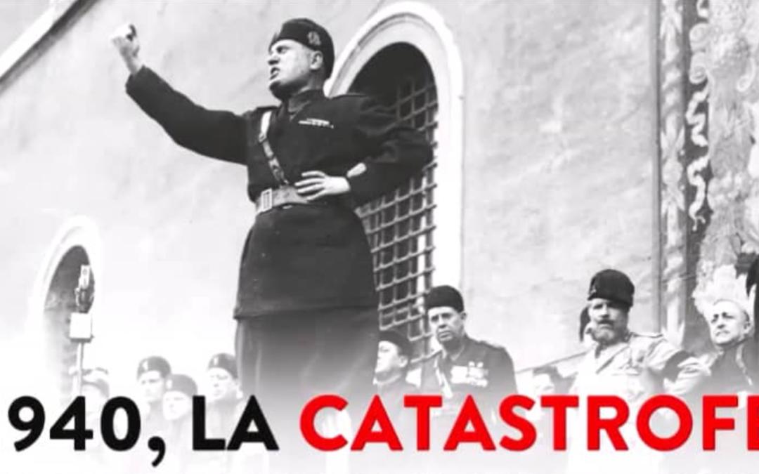 """""""La Catastrofe"""", il video dell'Anpi sull'entrata in guerra dell'Italia"""