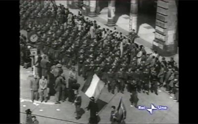 Nel videoracconto di Gianni Bisiach la sfilata della Liberazione a Milano